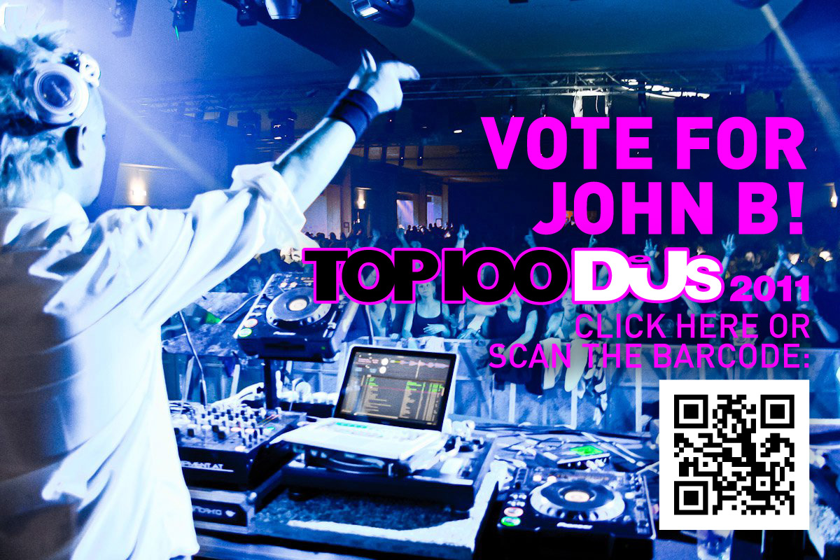 VOTE FOR JOHN B